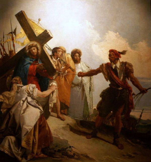 08 Estacao - Jesus consola as mulheres de Jerusalém