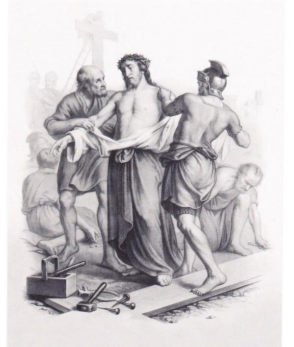 10 Estacao - Jesus é despojado de suas vestes2