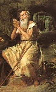 01-15 São Paulo Eremita por Diego Velázquez - Detalhe - 1635-38 - Prado