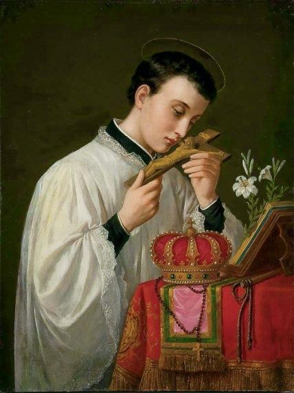 São Luís Gonzaga, conhecido como Patrono dos seminaristas
