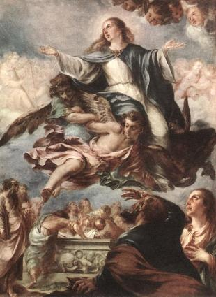 Assumption of the Virgin, Juan de Valdes Leal