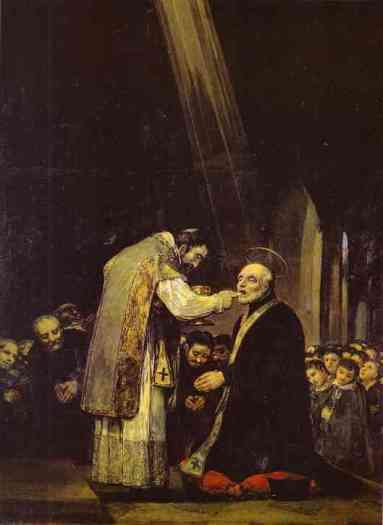 Francisco+de+Goya+-+The+Last+Communion+of+Saint+Jose+de+Calasanz+