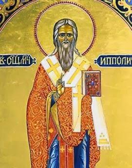 Santo Hipólito de Roma, Padre da Igreja